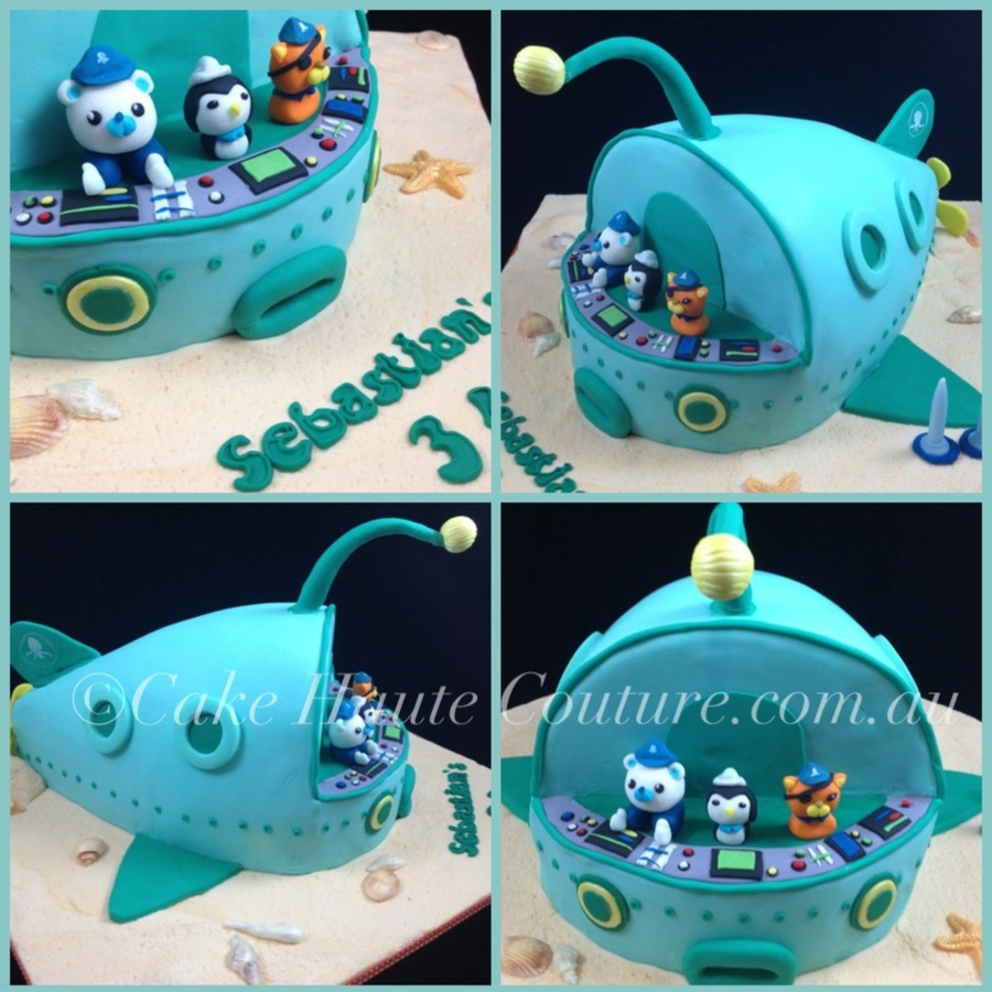 Octonauts Sculpted Cake on Cake Central