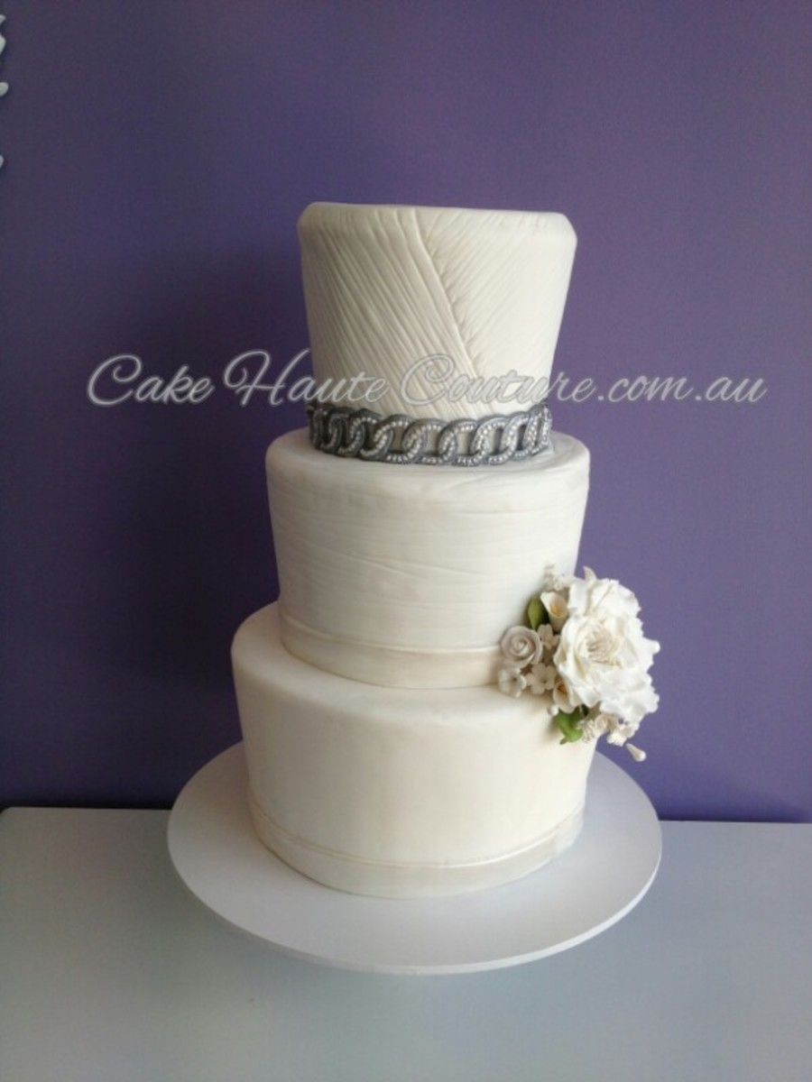 Bridal Gown Inspired on Cake Central