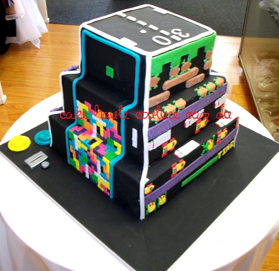 Retro Gamer's Cake