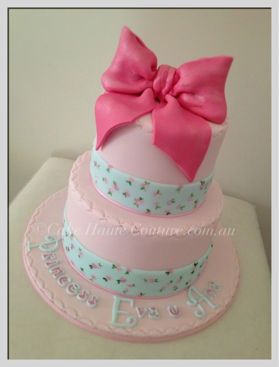 Outstanding Shabby Chic Birthday Cake Cakecentral Com Personalised Birthday Cards Cominlily Jamesorg