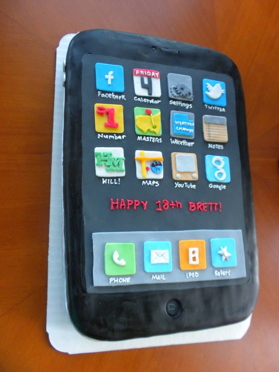 Iphone Cake on Cake Central
