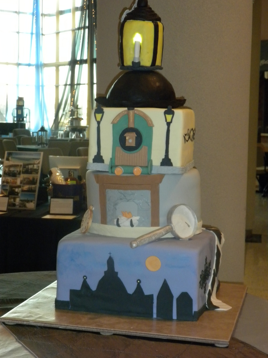 Mystery Of Edwin Drood Cake on Cake Central