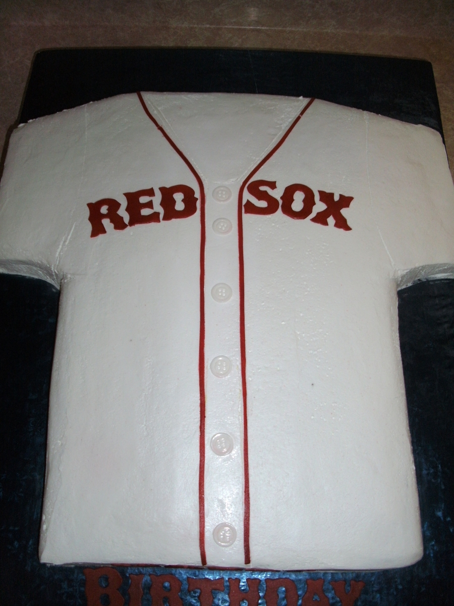 Boston Red Sox Jersey on Cake Central