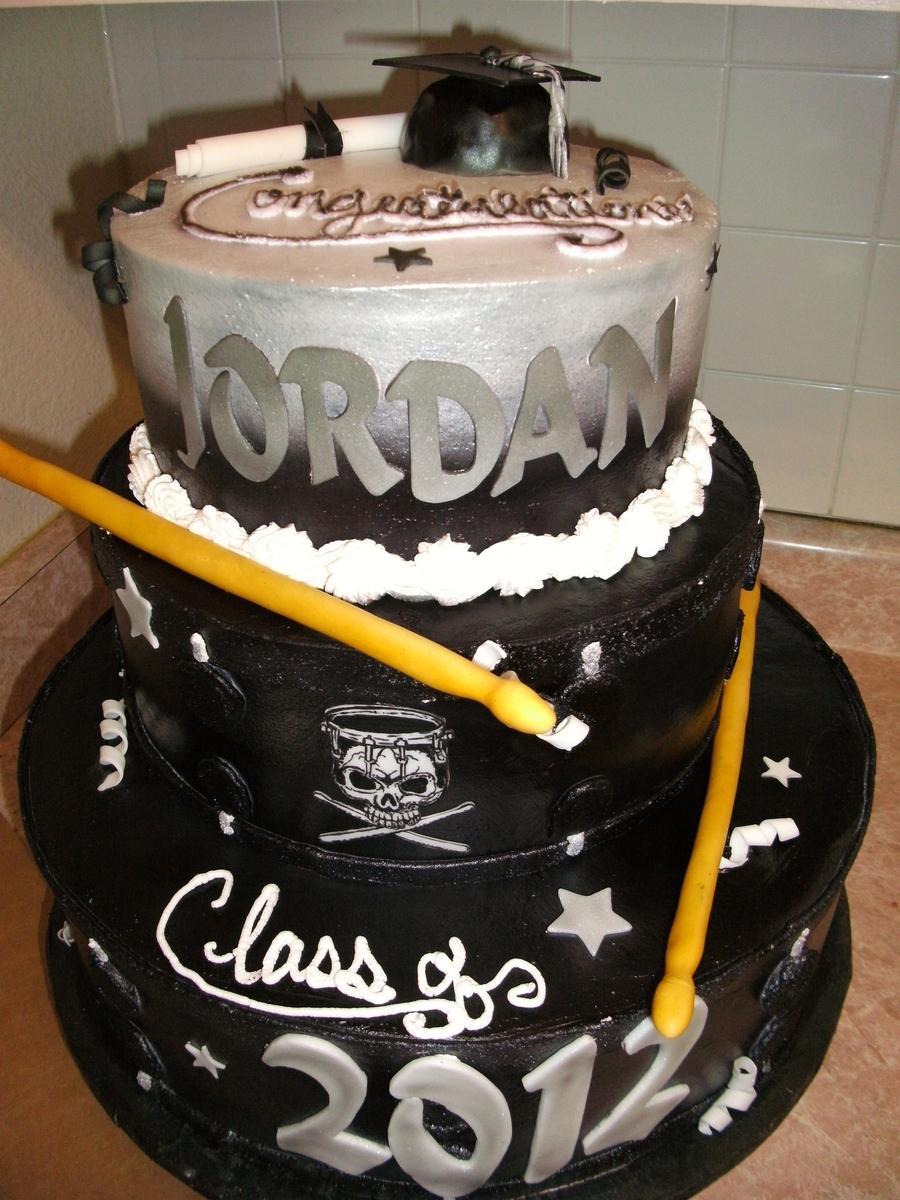 Graduation Drums Cake Cakecentral Com