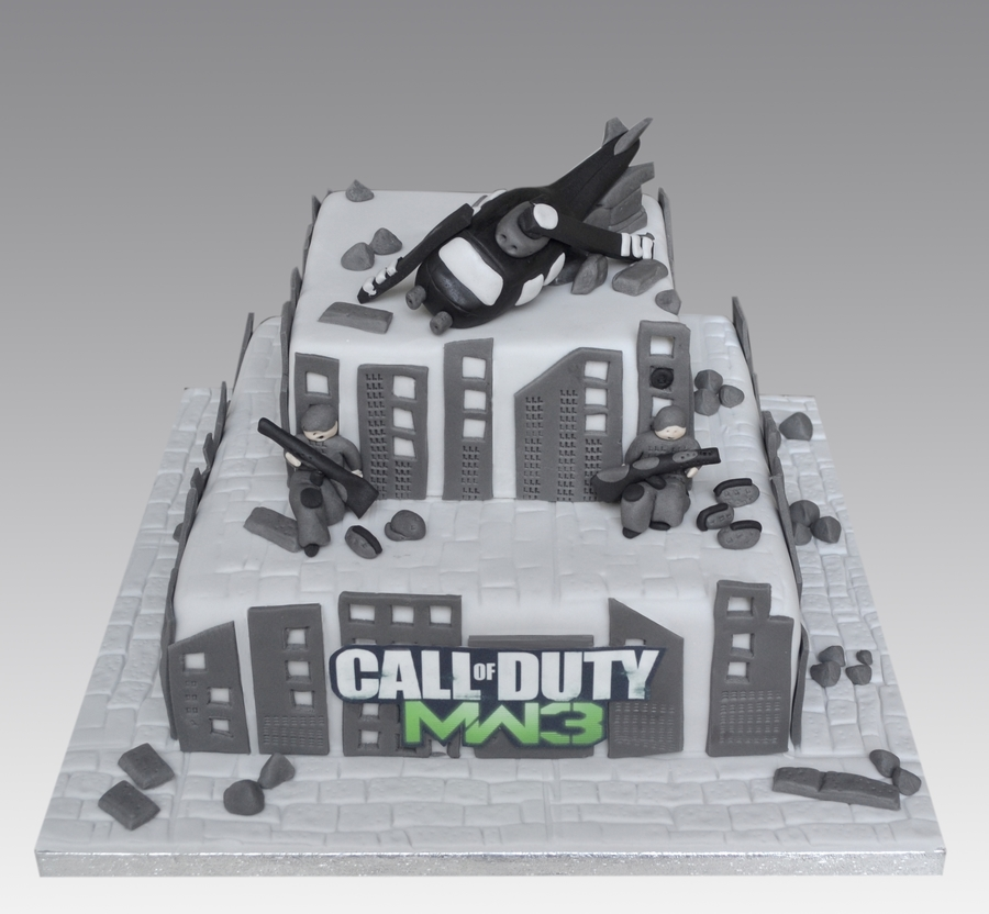 Call Of Duty Cake on Cake Central