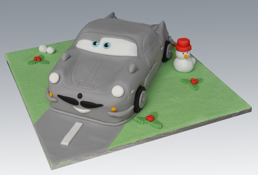 Finn Cars2 Cake on Cake Central