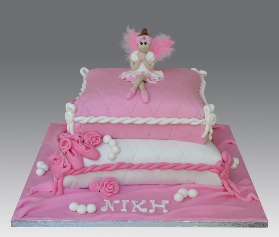 Feather Ballerina Cake on Cake Central