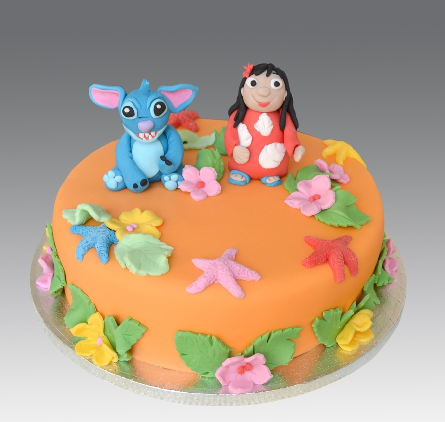 Lilo And Stitch Cake Cakecentral