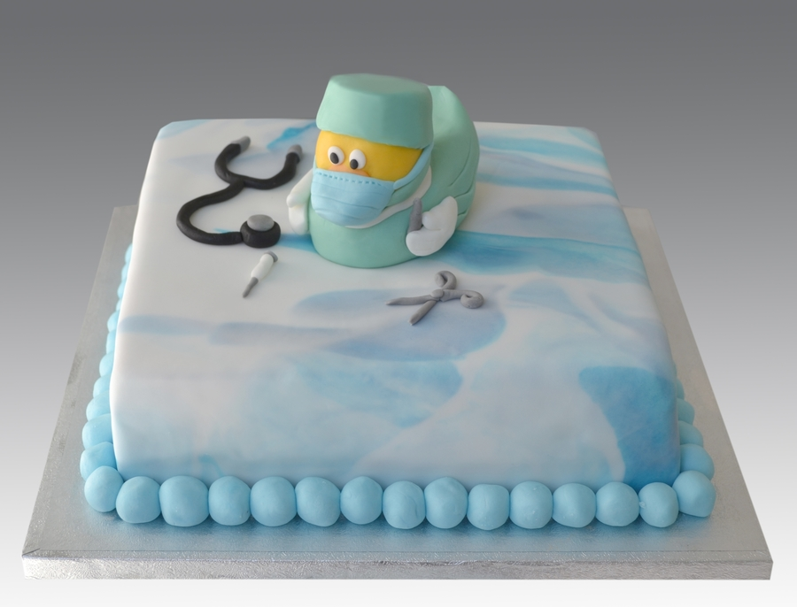 Surgeon Duck Cake on Cake Central