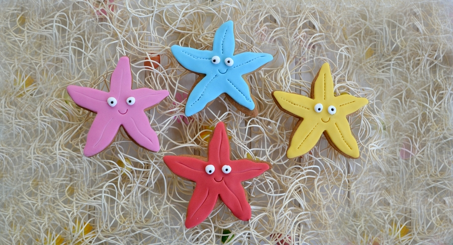 Star Fish Cookies on Cake Central