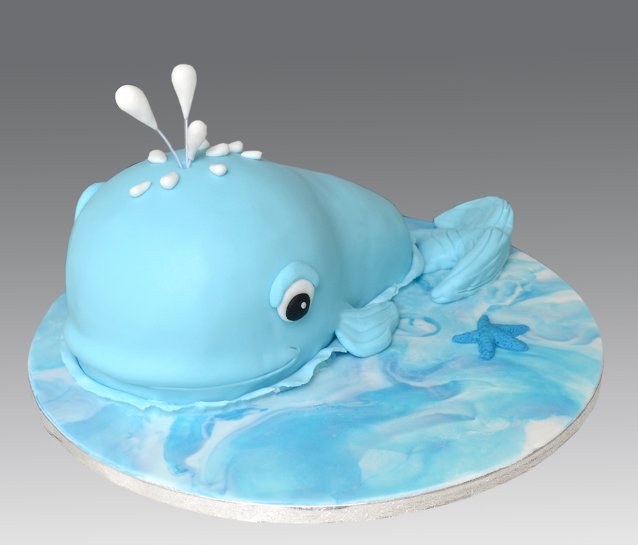 Whale Cake on Cake Central