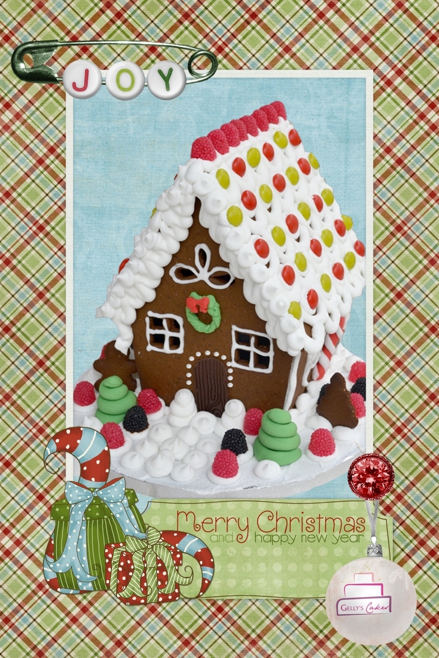 Gingerbread Cottage House on Cake Central