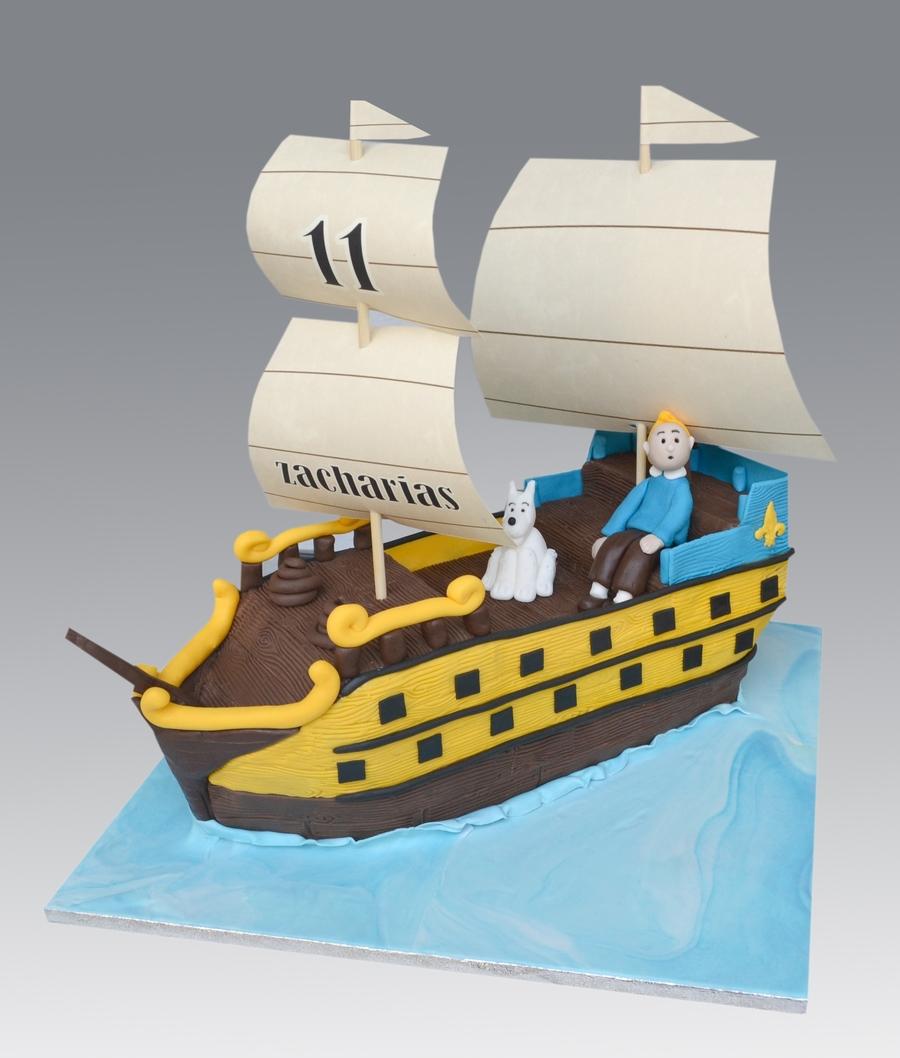 Tintin Birthday Cakes Recipes