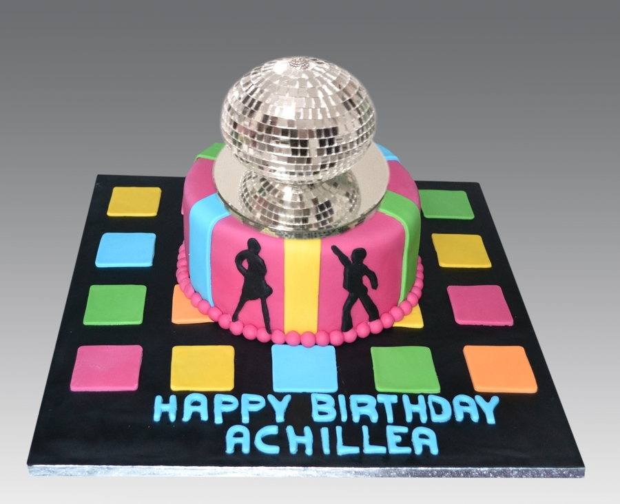 Disco Ball Cake on Cake Central