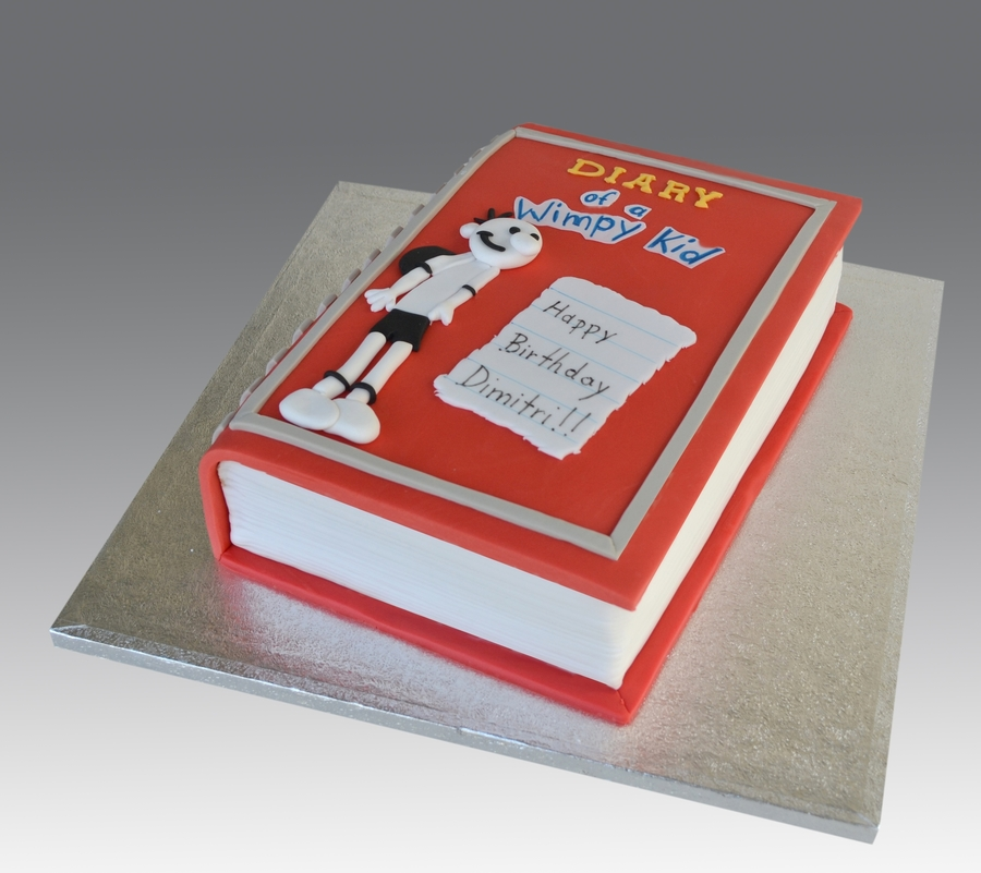 Diary Of A Wimpy Kid Cake on Cake Central