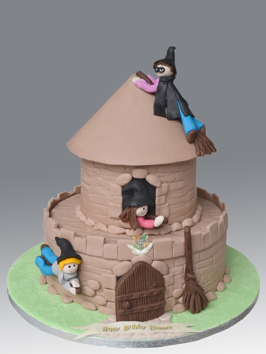 Harry Potter Hogwarts Castle Cake on Cake Central