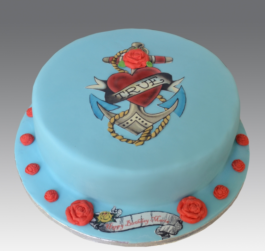 Ed Hardy Cake on Cake Central