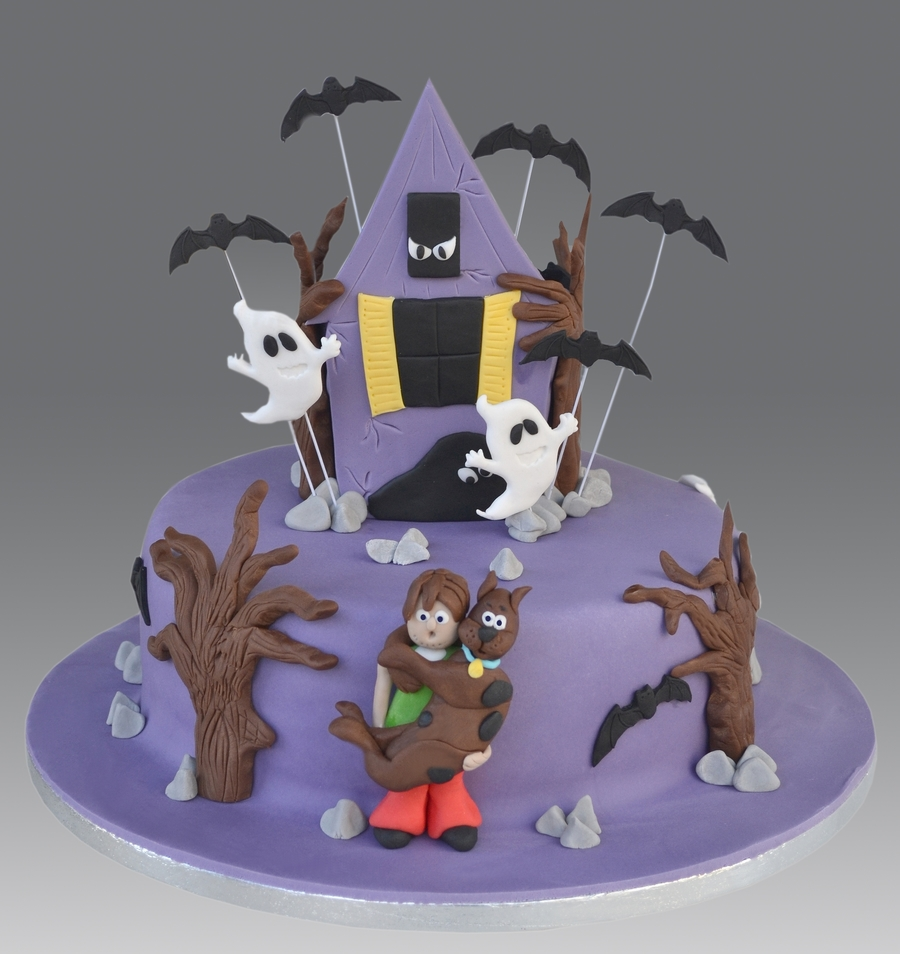 Scooby Doo Haunted House Cake on Cake Central