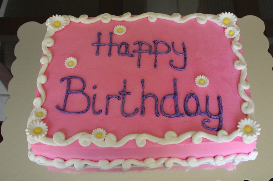 Pink Birthday on Cake Central