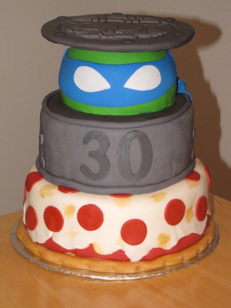 Tmnt Teenage Mutant Ninja Turtles Cake - CakeCentral.com