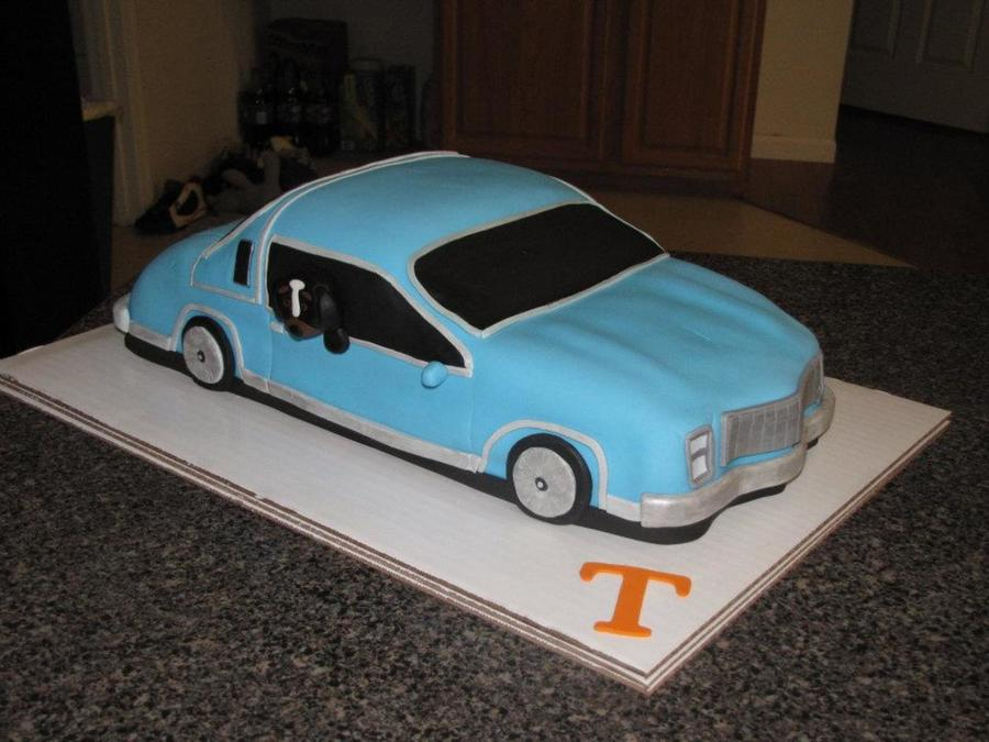 Monte Carlo Tennessee Vols on Cake Central