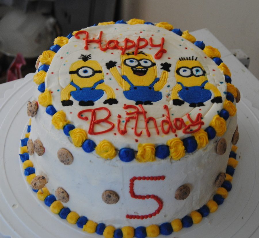 Despicable Me Fbct on Cake Central