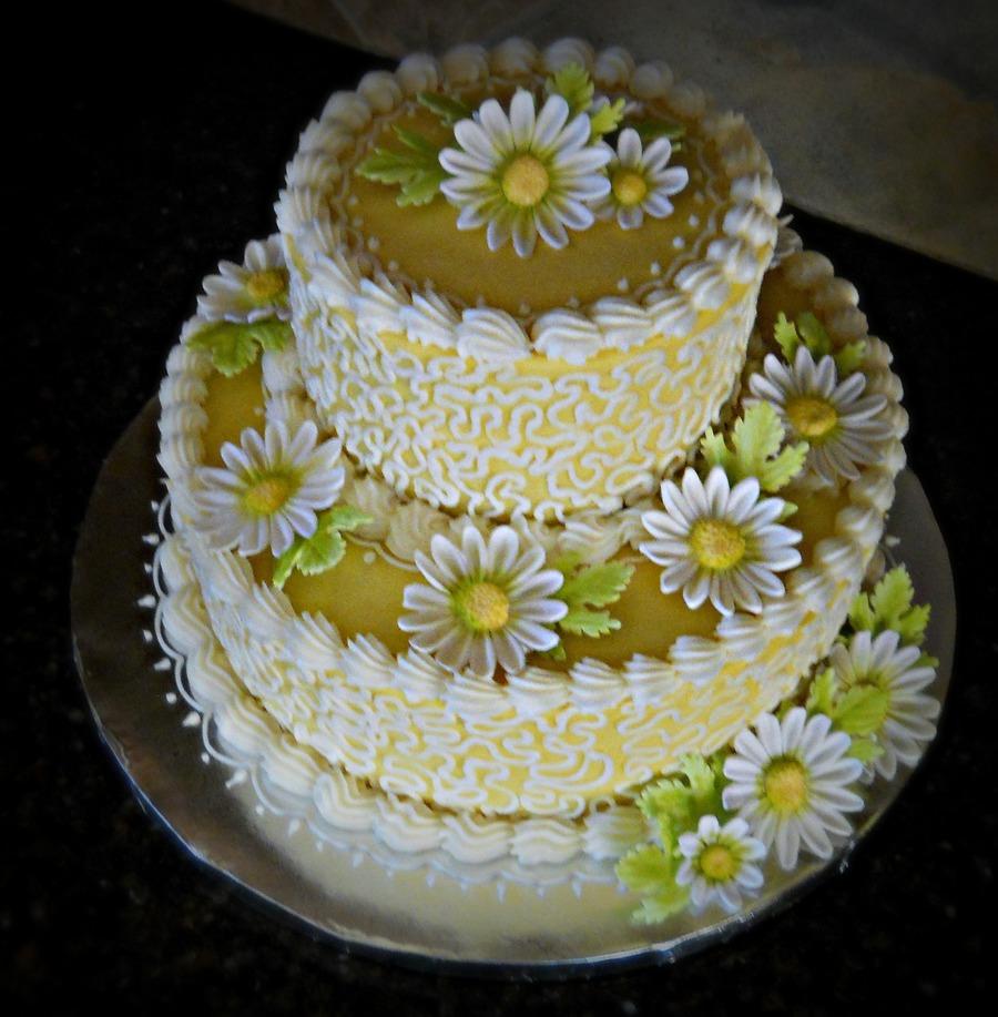 Yellow Or White Birthday Cake