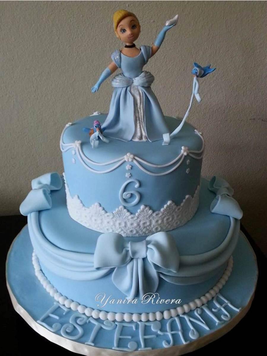 Cinderella Cake CakeCentralcom
