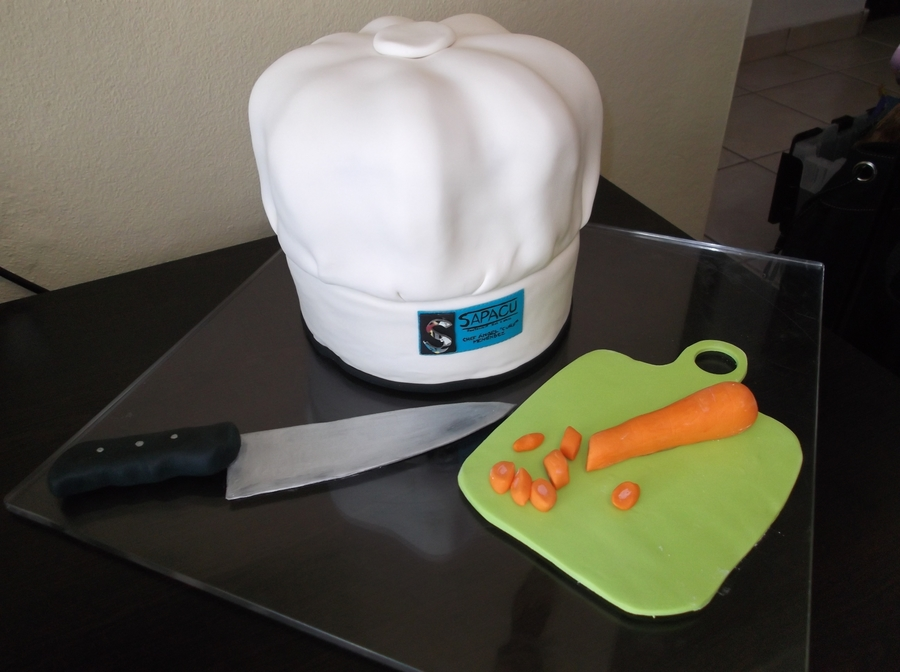Chef Hat Cake! on Cake Central
