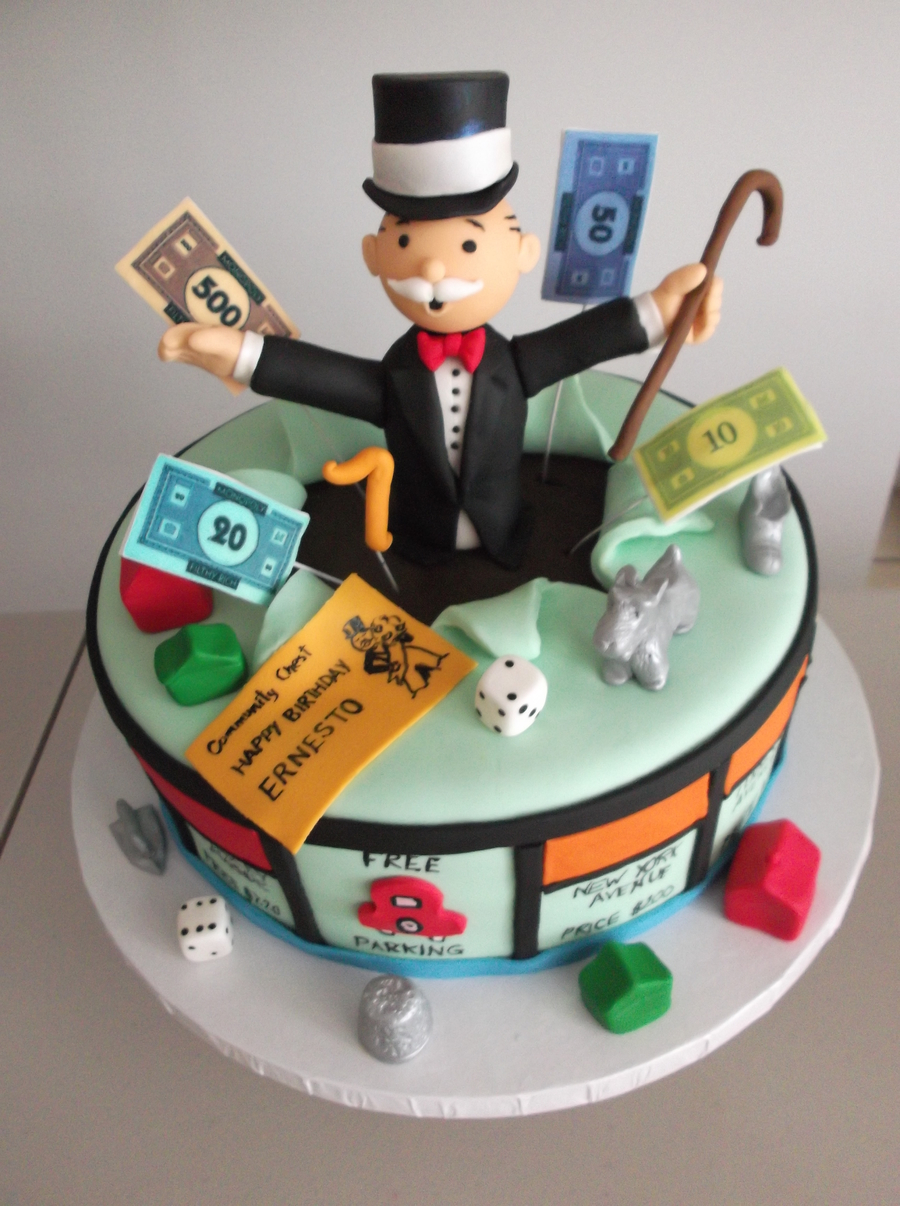 Monopoly Cake on Cake Central