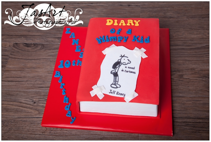 Diary Of A Whimpy Kid on Cake Central