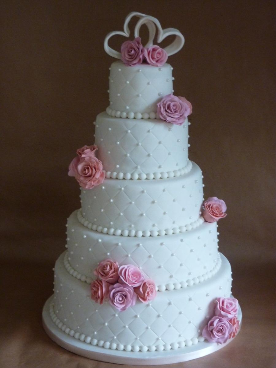 8 tier wedding cake design 5 tier wedding cake cakecentral 10519