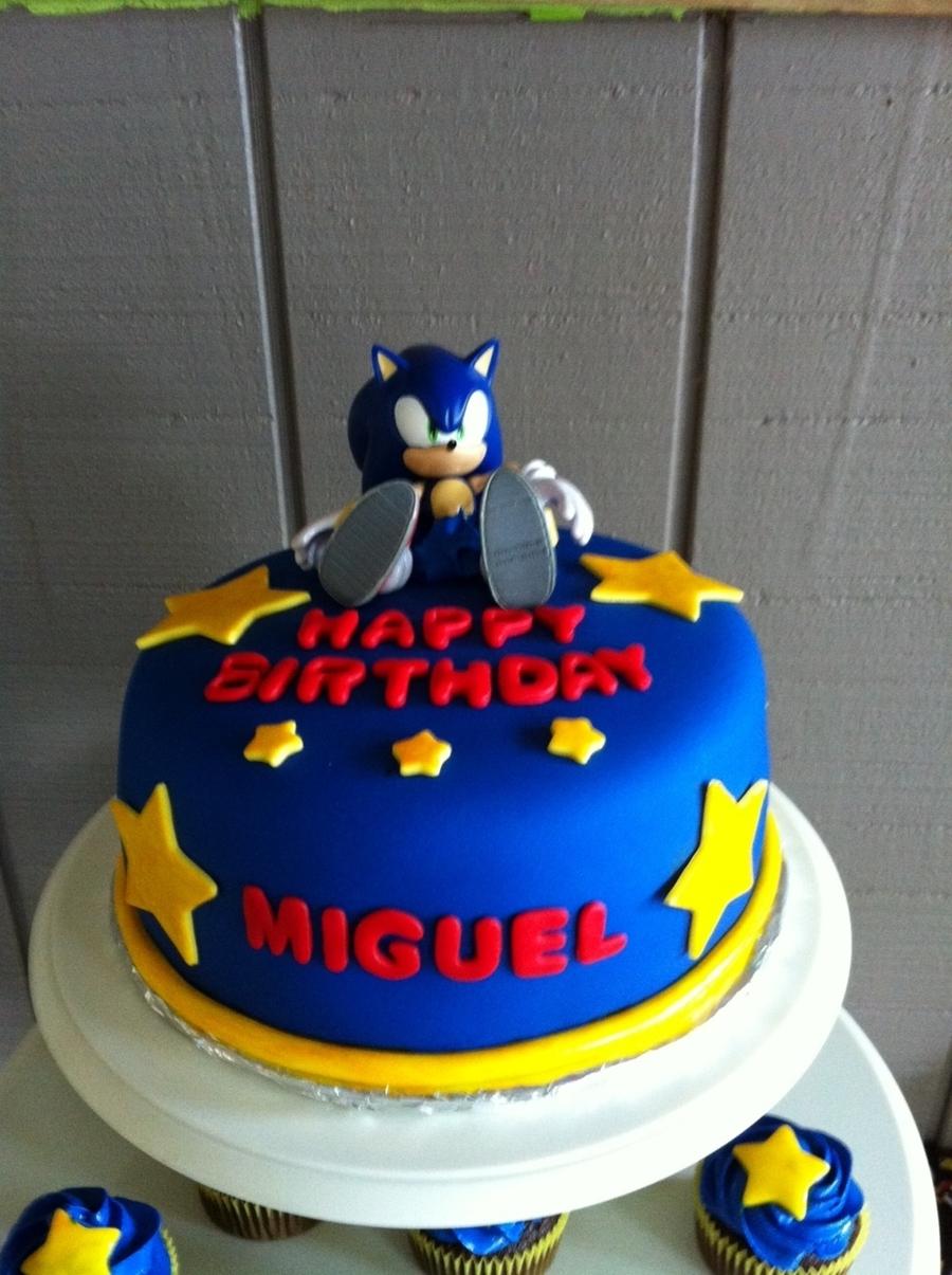 Sonic Cake - CakeCentral.com