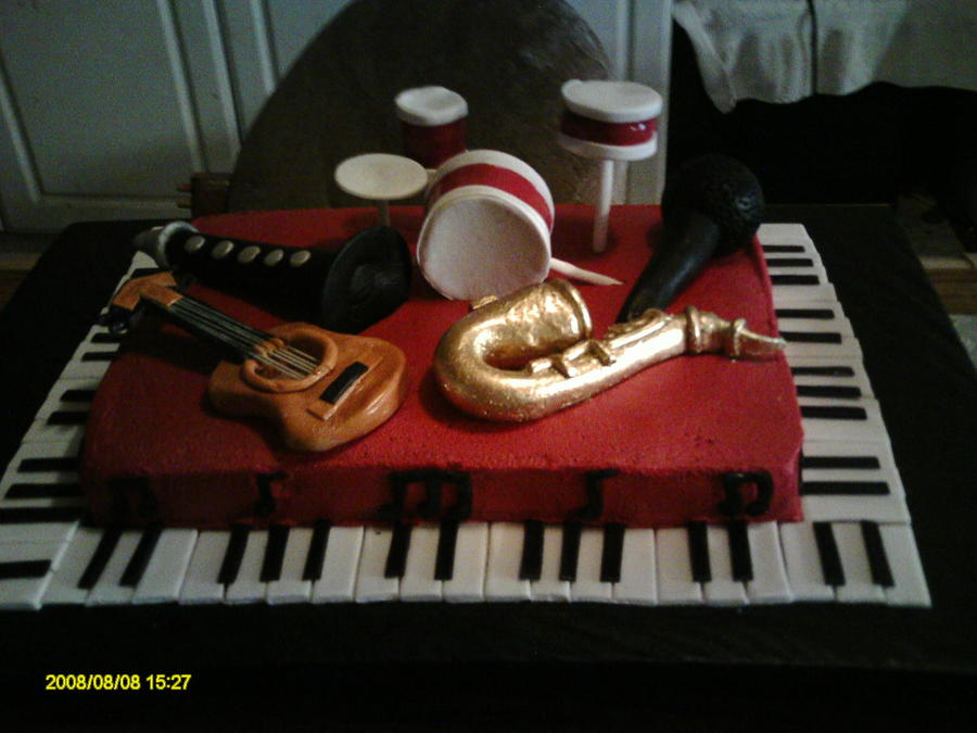 All About Music on Cake Central