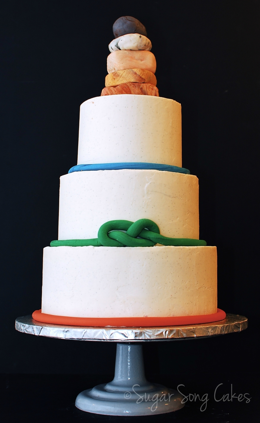 A Rock Climber S Wedding Cake Cakecentral Com