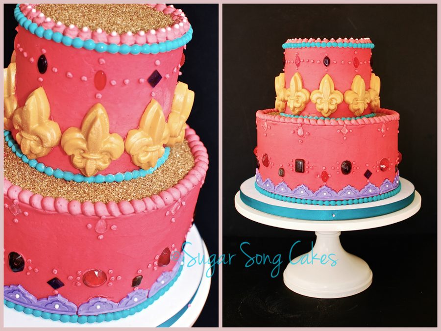Arabian Nights Birthday Cake on Cake Central