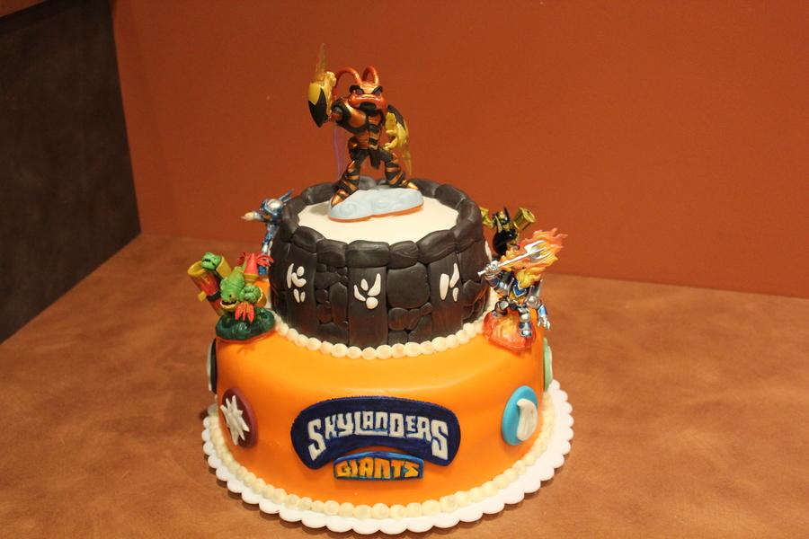 Skylanders Birthday Cake Cakecentral