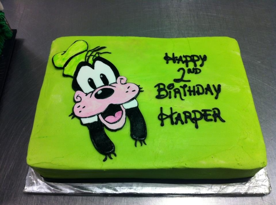 Goofy on Cake Central