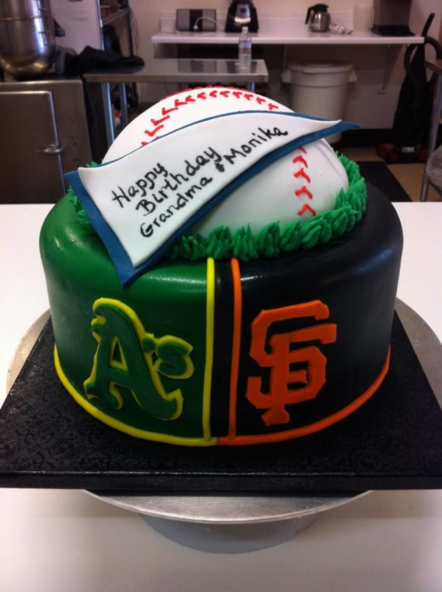 A's & Giants on Cake Central