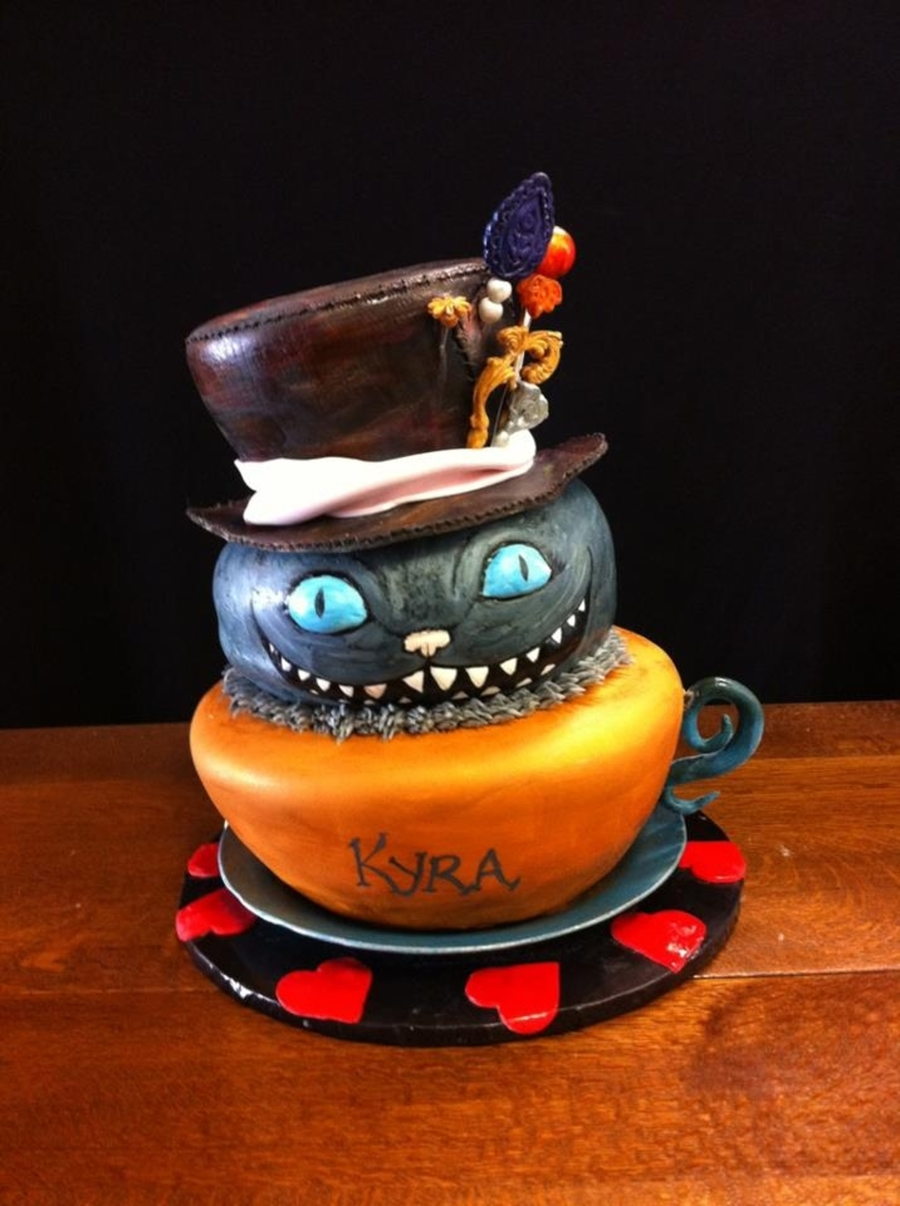 Mad Hatter For Kyra on Cake Central