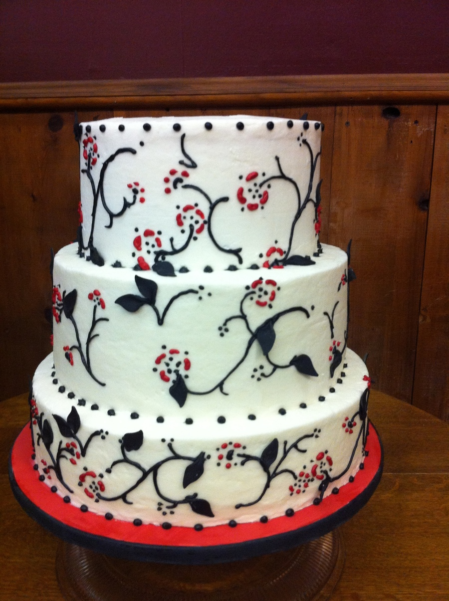 Red White And Black on Cake Central