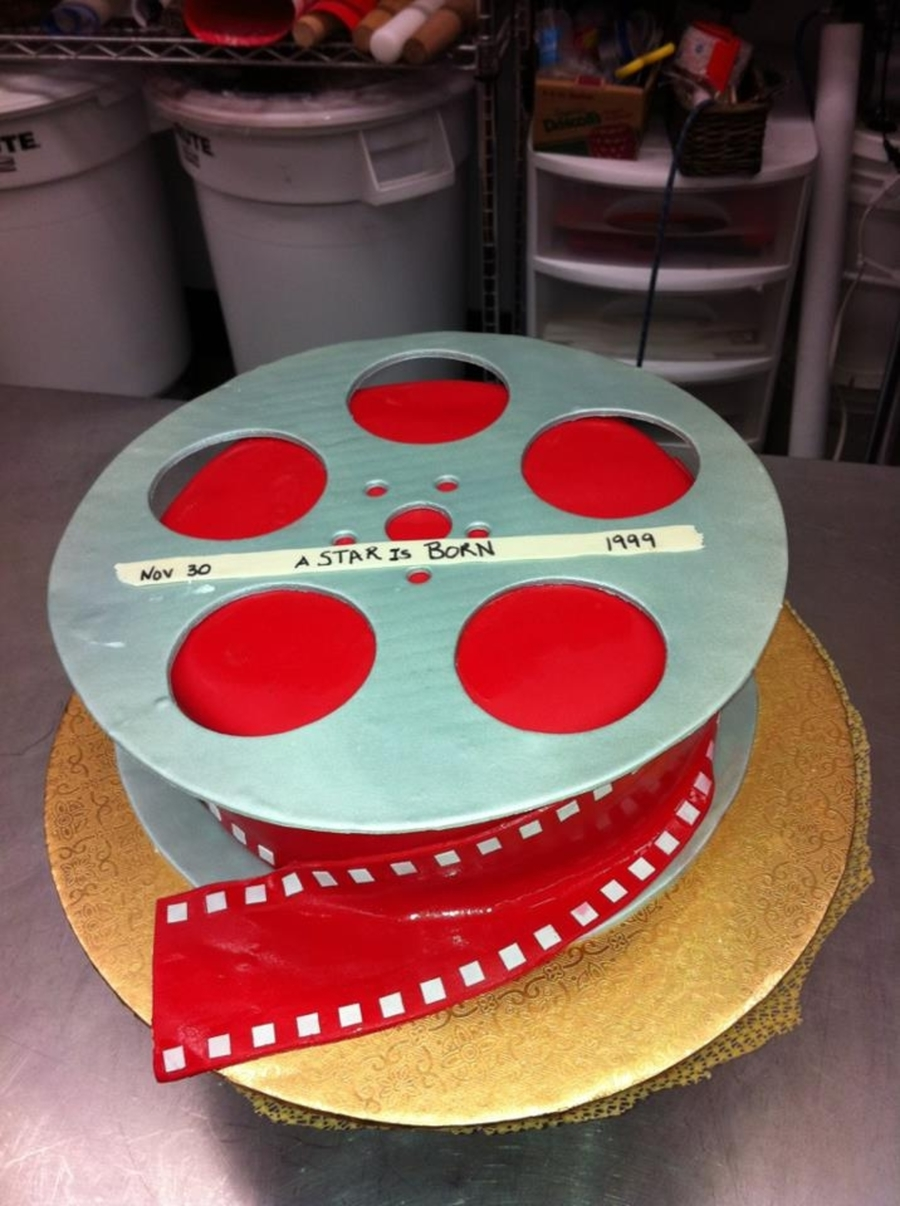Movie Reel on Cake Central