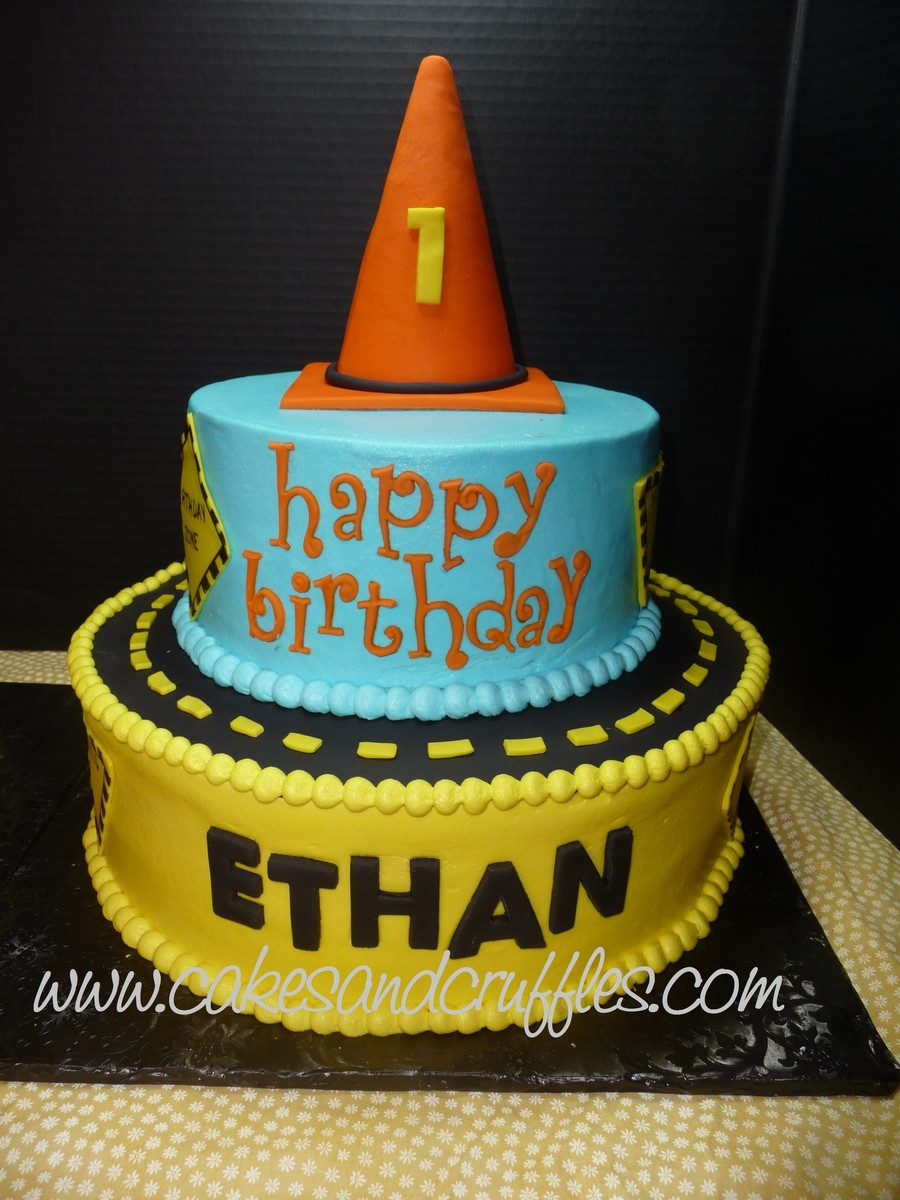 Surprising Construction Theme Cake Cakecentral Com Funny Birthday Cards Online Elaedamsfinfo