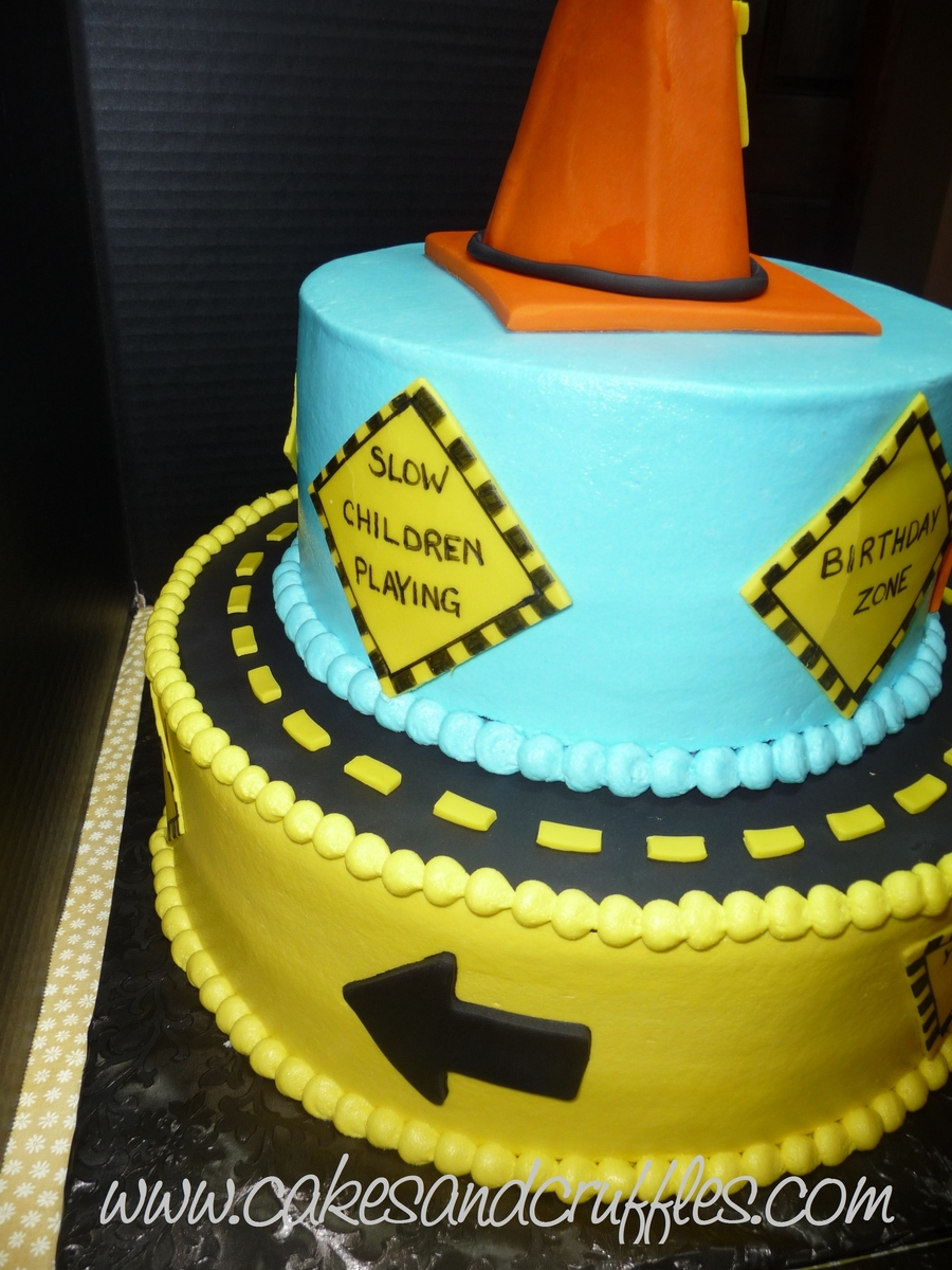 Construction Theme Cake Cakecentral Com