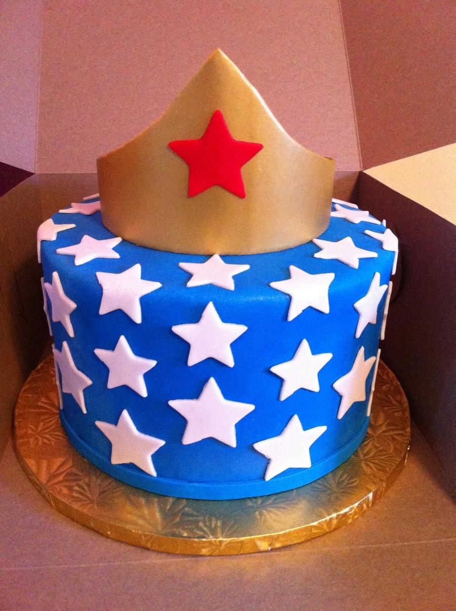 Wonder Woman Cake Recipe