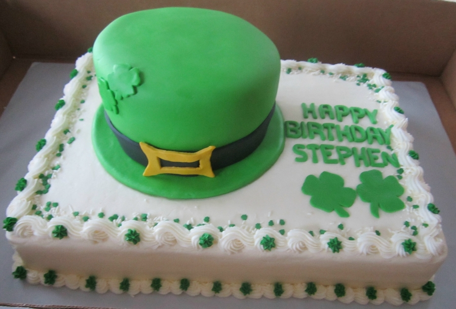 St Patrick's Day Birthday on Cake Central