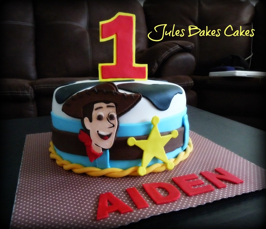Toy Story Cowboy Woody Cake  on Cake Central