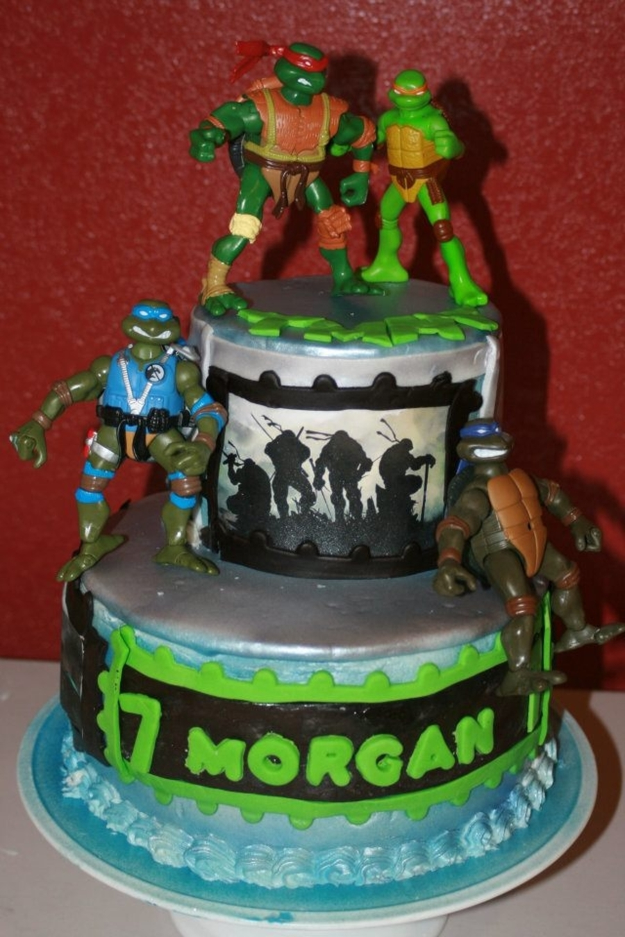 Morgan Ninja Turtles on Cake Central