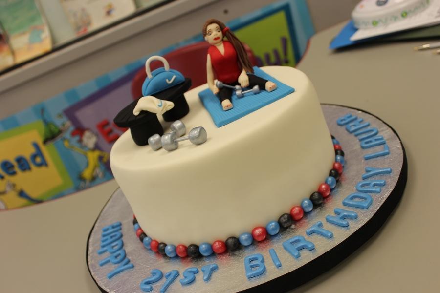 Birthday Cake Images Gym : Fitness - CakeCentral.com