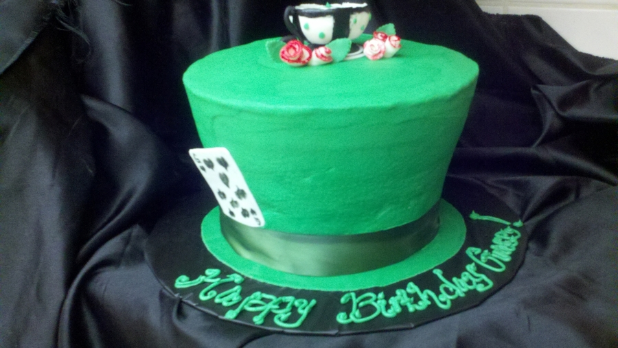 Mad Hatter Birthday Cake on Cake Central